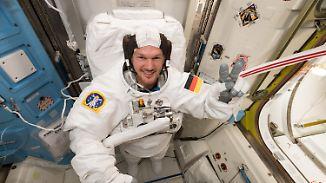 Erster deutscher ISS-Kommandant: Gerst tritt Chefposten im All an
