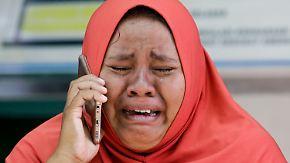 Vulkanausbruch nach der Tsunami-Katastrophe: In Indonesien wächst die Verzweiflung