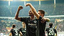 Furore in der Europa League: Eintracht Frankfurt demontiert Lazio