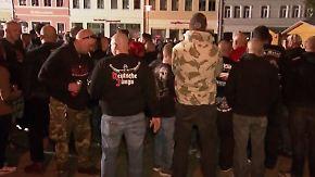 Nach Verbot in Magdala: Hunderte Neonazis strömen zu Konzert in Apolda