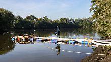 Ungeklärter Mordfall bei Bremen: See wird für Suche nach Leiche abgepumpt