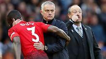 José Mourinho und sein Manchester United sind nun Tabellenachter.