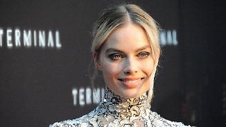 Promi-News des Tages: Margot Robbie soll zur Plastikpuppe werden