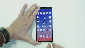 n-tv Ratgeber: Das kann Galaxys neuer Smartphone-Riese Note 9
