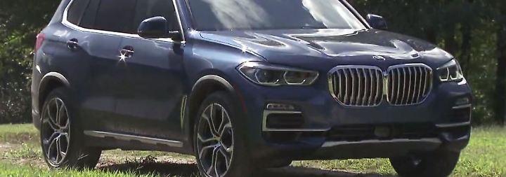 Neuer BMW X5 bläht die Nüstern: SUV-Großvater stürzt sich ins Offroad-Abenteuer