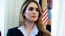 Hope Hicks war von August 2017 bis April 2018 Kommunikationschefin im Weißen Haus. Nun heuert sie beim Medienkonzern fOX AN: