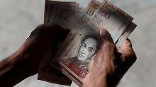 Gigantischer Preisanstieg: IWF erwartet Millionen-Inflation für Venezuela
