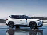 2019 startet die fünfte Generation des Toyota RAV4 mit verschärfter Optik auch in Deutschland.
