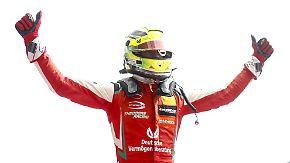 Formel-3-Finale in Hockenheim: Drei Rennen trennen Mick Schumacher vom Triumph