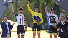 """Der Sport-Tag: Unbekannte stehlen """"Tour de France""""-Siegerpokal"""