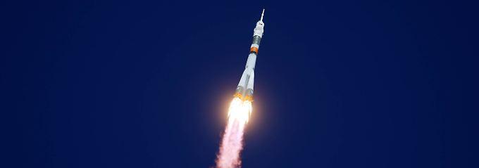 Probleme nach Start zur ISS: Sojus-Besatzung muss notlanden
