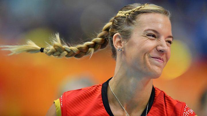 Kapitänin Maren Fromm macht ihren Platz in der Nationalmannschaft frei.