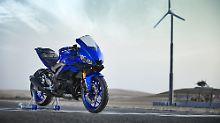 Der neuen Yamaha YZF-R3 liegt das Design der Tausender zu Grunde.