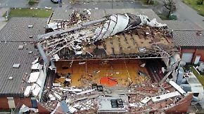 """""""Da stand eben noch ein Haus"""": Hurrikan peitscht auf Florida, viele schaffen Flucht nicht"""