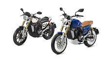 Mit einem Roadster und einem Café Racer will Peugeot ins Motorrad-Geschäft zurückkehren.