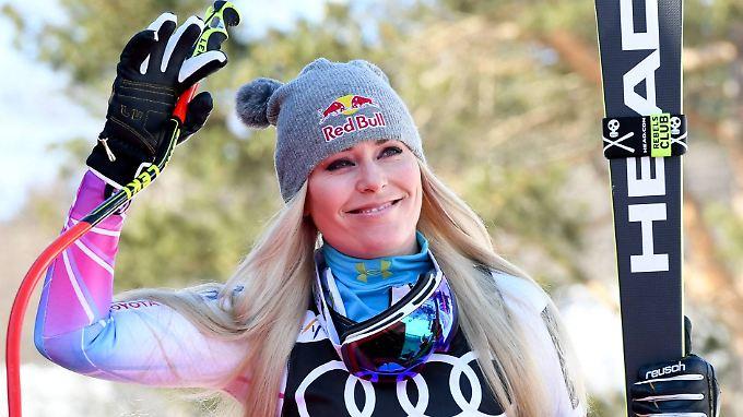 Lindsey Vonn wird bald ihre aktive Laufbahn beenden.