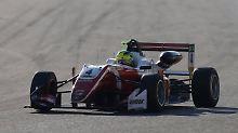 """""""Habe ein Rennfahrerherz"""": Mick Schumacher gewinnt Formel-3-EM"""