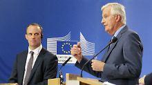 """""""Vorläufiger Zeitplan"""" enthüllt: Brexit-Deal soll am Sonntag stehen"""