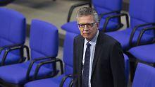 Ärger im Amri-Ausschuss: De Maizière sandte Ex-Verfassungsschützerin