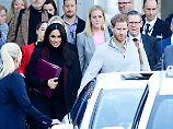 Großbritannien jubelt: Prinz Harry und Meghan erwarten ein Baby