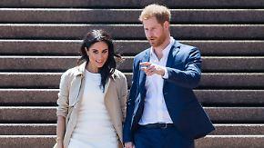 Briten im Wettfieber: Welchen Namen bekommt das Kind von Meghan und Harry?