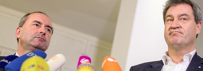 """""""Großes Maß an Übereinstimmung"""": CSU und Freie Wähler sind zufrieden"""