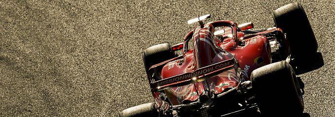 Gewinnt Hamilton jetzt die WM?: Aus der Chancenlosigkeit greift Vettel an