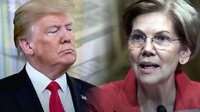 """Abstammungs-Streit unter der Gürtellinie: Trump will Senatorin """"Pocahontas"""" selbst testen"""