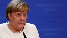 """Merkel warnt vor Risiken: Weitere Brexit-Gespräche """"nicht absehbar"""""""