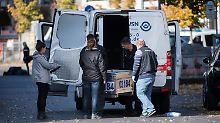 Überfall auf Geldtransporter: 38-jähriger Verdächtiger in Berlin verhaftet