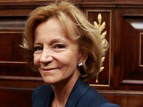 Verantwortlich für Spaniens Finanzen: Elena Salgado.