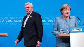 Diesel-Fahrverbot in Frankfurt: Merkel prescht voran, Bouffier rudert zurück