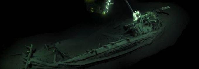 Konserviert in 2000 Metern Tiefe: Ältestes Schiffswrack der Welt entdeckt