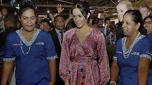 Gefahr für die Herzogin?: Meghan bricht Marktbesuch ab