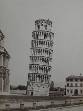 Enrico van Lint: Pisa: Der Schiefe Turm (1855).