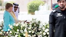 Telefonat mit König Salman: Merkel verurteilt Khashoggi-Mord