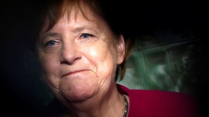 43 Prozent der Befragten würden sich für sie als Kanzlerin entscheiden: CDU-Chefin Angela Merkel.