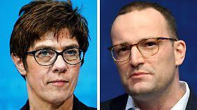 Wer folgt auf Merkel?: Kandidaten bringen sich in Stellung
