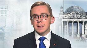 """Philipp Amthor zur Merkel-Nachfolge: """"Wichtig ist, dass man keine Hinterzimmer-Lösung findet"""""""