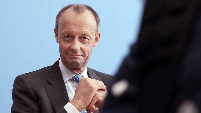 """""""Zu versöhnen gibt es zwischen Merkel und mir nichts"""", sagt Friedrich Merz."""