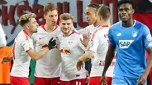 """Pokalsieg gegen Neu-Coach: Werner """"jokert"""" RB Leipzig ins Achtelfinale"""