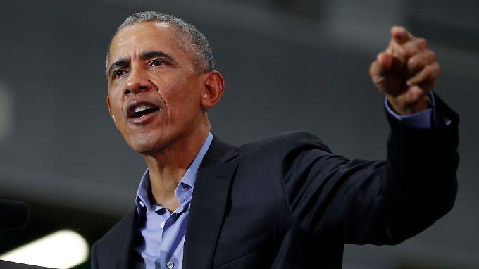 """Kritisiert die """"politische Show"""": Ex-US-Präsident Obama"""
