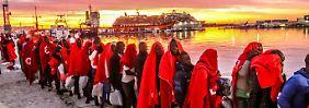 Flucht über das Mittelmeer: Zahl der illegalen Zuwanderer bleibt hoch