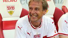 Jürgen Klinsmann spielte kürzlich beim Stuttgarter Legendenspiel.