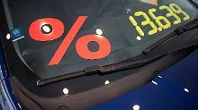 Für einen neuen Diesel geben die Händlergerne Rabatte. Aber nicht in allen Fällen lohnt sich das.