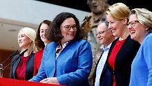 """So will die SPD es schaffen: Dann eben """"Zusammenhalt"""""""