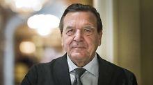 Gerhard Schröder war von 1998 bis 2005 Bundeskanzler.