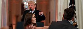 Trump in Streitlaune: Sessions muss gehen, CNN-Reporter verliert Akkreditierung