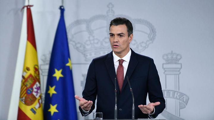 Der Sozialist Sánchez ist seit dem 2. Juni dieses Jahres spanischer Ministerpräsident.