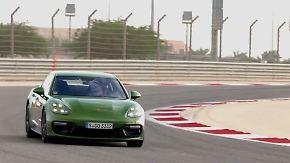 Leichtfüßiger Fast-Zwei-Tonner: Porsche Panamera GTS hämmert über den Rennkurs